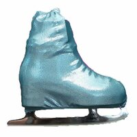 Metalic Figure Skating Boot Covers by Kami-So -