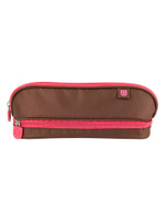 Zuca Pencil case - Brown & Pink