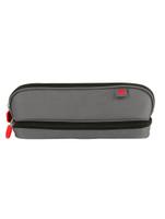 Zuca Pencil case - Gray & Red