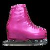 Metallic Figure Skating Boot Covers by Kami-So - Metallic Pink