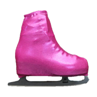 Metallic Figure Skating Boot Covers by Kami-So - Metallic Pink