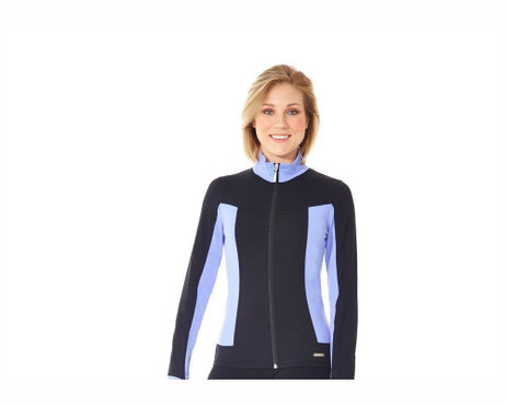 Mondor 4807 Scuba Supplex Colorful Sides Figure Skating Jacket - Periwinkle *30% OFF*