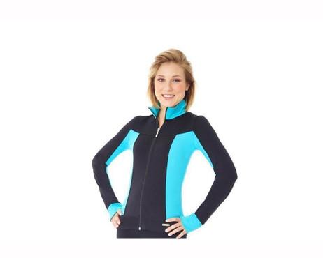 Mondor 4807 Supplex Colorful Sides Figure Skating Jacket - Scuba *30% OFF*