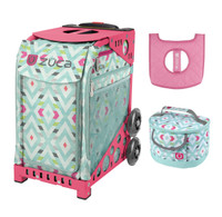 Zuca Sport Bag - Chevron + FREE Lunchbox and Seat Cover