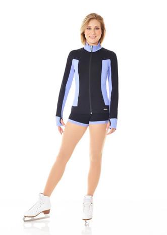 Mondor 4810 Supplex Figure Skating Shorts - Periwinkle