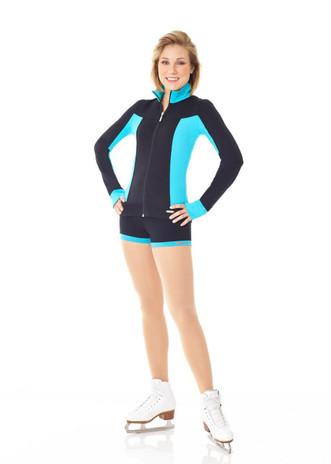 Mondor 4810 Supplex Figure Skating Shorts - Scuba