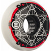 Eulogy Inline Wheels - Metatron Cube logo 54mm 88a  (4pk)