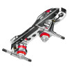 Roller Derby Elite Quad Roller Skates - Stomp Factor 2 with Neutron Chassis 4th view