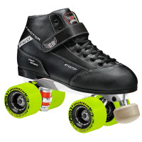 Roller Derby Elite Quad Roller Skates - Stomp Factor 2 with Neutron Chassis