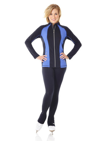Mondor 500 PowerMAX Ladies Figure Skating Jacket - Navy White *30% OFF*