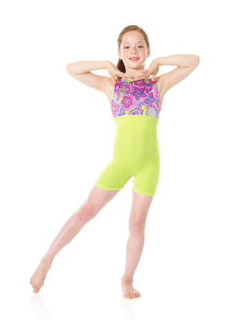 Mondor 7801 PL - Leotard CLEARANCE (30 % OFF) SIZE 2-4 ONLY