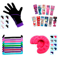 "Accessories Package 5 - IceDress Gloves ""IceDress"" , Edea Spinner, Skate Guards and Regular Soakers"