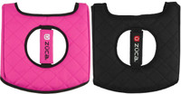 Zuca Seat Cover - Black / Pink