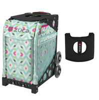 Zuca Sport Bag - Chevron with Gift Black/Pink Seat Cover