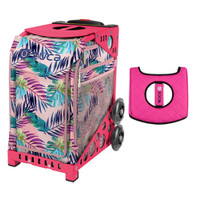 Zuca Sport Bag - Pink Oasis with Gift  Black/Pink Seat Cover (Pink Frame)