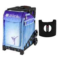 Zuca Sport Bag - Ice Dreamz with Gift  Black/Pink Seat Cover (Black Non-Flashing Wheels Frame)
