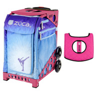 Zuca Sport Bag - Ice Dreamz with Gift  Black/Pink Seat Cover (Pink Frame)