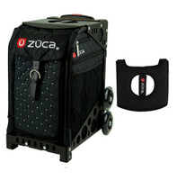 Zuca Sport Bag - Mystic with Gift  Black/Pink Seat Cover (Black Non-Flashing Wheels Frame)
