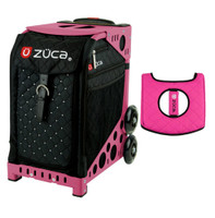 Zuca Sport Bag - Mystic with Gift  Black/Pink Seat Cover (Pink Frame)