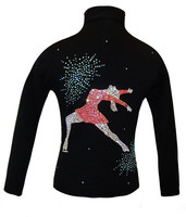 "Ice Skating Jacket with ""Colorful Ina Bauer"" Applique"