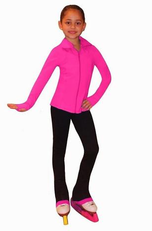 Venetta Junior Pink Ice Skating Jacket