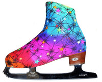 Rainbow Ice Skating Boot Covers
