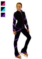 ChloeNoel Figure Skating Outfit -  J636F Figure Skating Jacket and P636F Figure Skating Pants