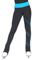 ChloeNoel Figure Skating Outfit - PS96 Figure Skating Pants and JS96 Crystal Spiral Figure Skating Jacket