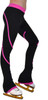 P76 Fuchsia Figure Skating Pants by ChloeNoel Ice Skating Apparel Side View