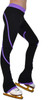 P76 Purple Figure Skating Pants by ChloeNoel Ice Skating Apparel Side View