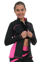 ChloeNoel Figure Skating Outfit - P06 Figure Skating Pants and J06 Figure Skating Jacket Combination