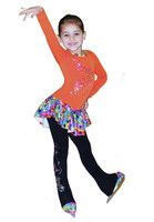 """ Rainbow Skates"" Ice Skating Outfit Gift Set"