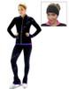 Kami-So Figure Skating Outfit - Purple Pants and Jacket + FREE Kami-So Headband