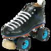 Riedell Quad Roller Skates - Blue Streak Pro