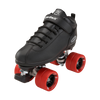 Riedell Quad Roller Skates - Dart- Zebra, Solid Colors 2nd view
