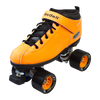 Riedell Quad Roller Skates - Dart- Zebra, Solid Colors 3rd view