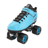 Riedell Quad Roller Skates - Dart- Zebra, Solid Colors 4th view