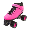 Riedell Quad Roller Skates - Dart- Zebra, Solid Colors 5th view