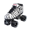 Riedell Quad Roller Skates - Dart- Zebra, Solid Colors 7th view