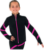Chloe Noel JS106P Elite Polartec Spiral Fleece Figure Skating Jacket 2nd view