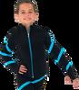 Chloe Noel JS106P Elite Polartec Spiral Fleece Figure Skating Jacket 3rd view
