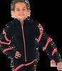 Chloe Noel JS106P Elite Polartec Spiral Fleece Figure Skating Jacket 4th view