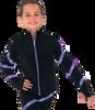 Chloe Noel JS106P Elite Polartec Spiral Fleece Figure Skating Jacket with Crystals