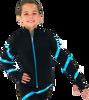 Chloe Noel JS106P Elite Polartec Spiral Fleece Figure Skating Jacket with Crystals 2nd view