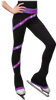 Chloe Noel PS106P Elite Polartec Spiral Fleece Figure Skating Pants with Crystals 2nd view