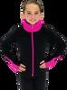 Chloe Noel JS883P Contract Elite Polartec Spiral Fleece Figure Skating Jacket 4th view