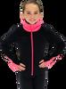 Chloe Noel JS883P Contract Elite Polartec Spiral Fleece Figure Skating Jacket 5th view