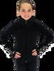 Chloe Noel JS883P Contract Elite Polartec Spiral Fleece Figure Skating Jacket with Crystals 2nd view