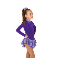 Jerry's Ice Skating Dress   - 20 Fancy Fleece  - Deep Iris