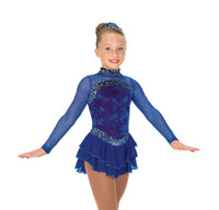 Jerry's Ice Skating Dress   - 26 Sterling Blue